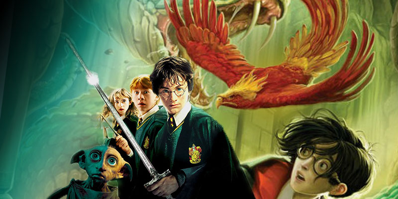 Cartaz do filme Harry Potter e a Câmara Secreta - O Filme