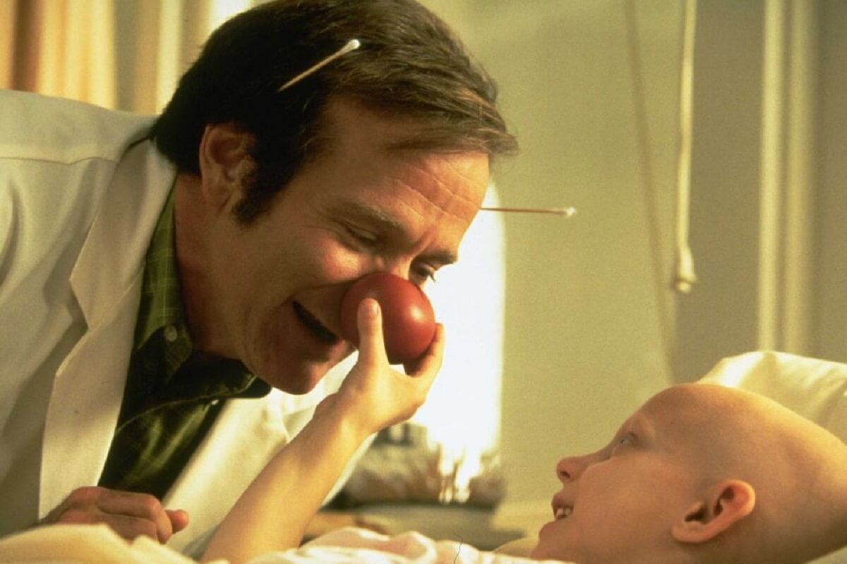 Cartaz do filme Patch Adams: O Amor é Contagioso - O Filme