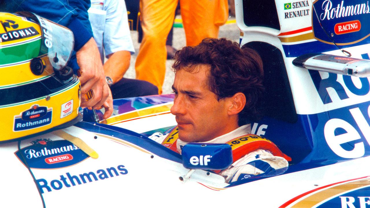 Cartaz do filme Senna - O Filme