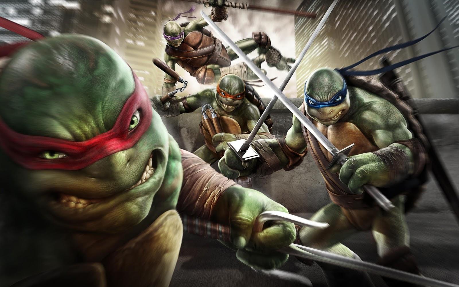 Cartaz do filme As Tartarugas Ninja: Fora das Sombras
