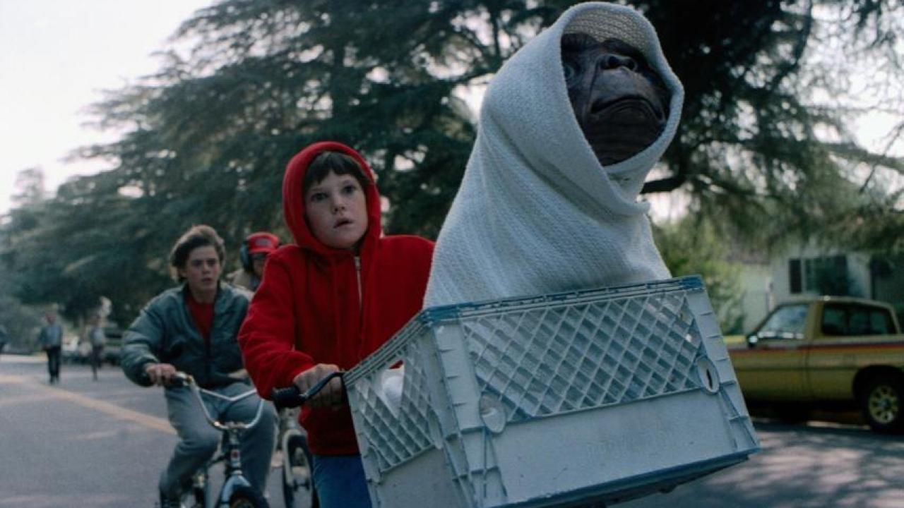 Cartaz do filme E.T.: O Extraterrestre - O Filme