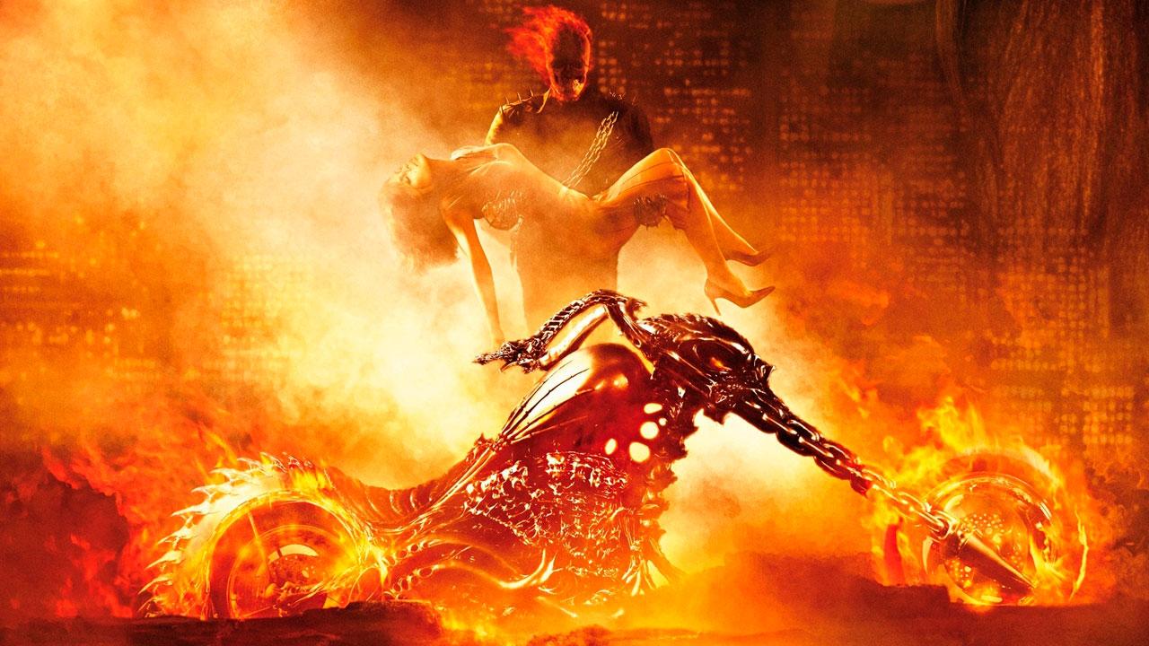 Cartaz do filme Motoqueiro Fantasma - O Filme