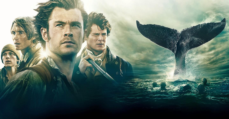 Cartaz do filme No Coração do Mar - O Filme