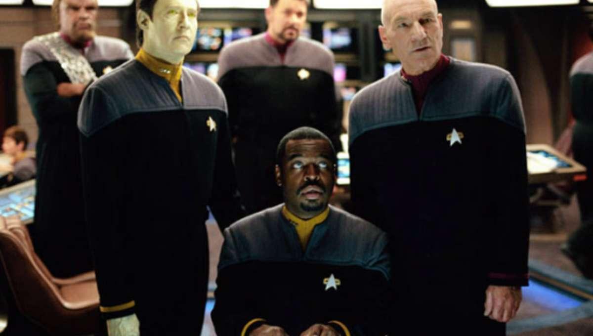 Cartaz do filme Star Trek: Nêmesis - O Filme