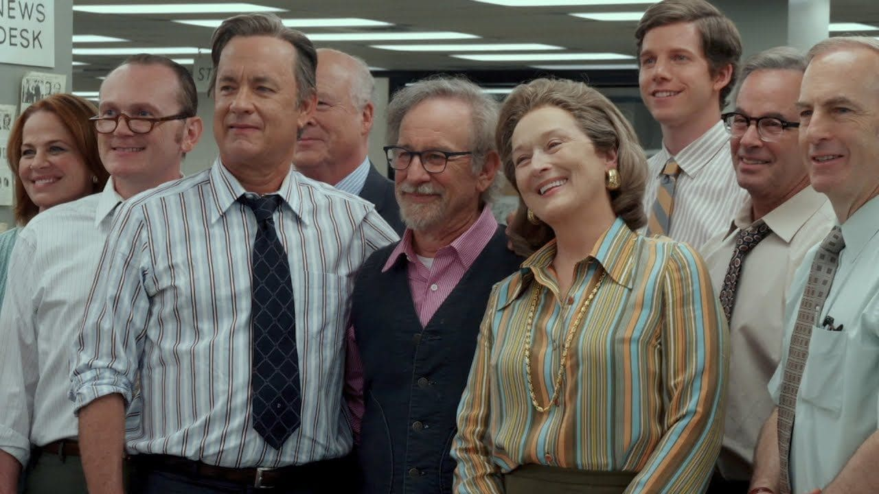 Cartaz do filme The Post: A Guerra Secreta - O Filme